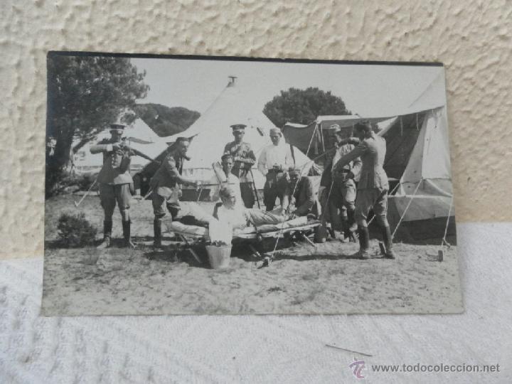 CABALLERÍA ESPAÑOLA. CAMPAMENTO. 1923. (Militar - Fotografía Militar - Otros)