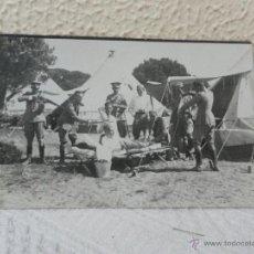 Militaria: CABALLERÍA ESPAÑOLA. CAMPAMENTO. 1923.. Lote 41608772