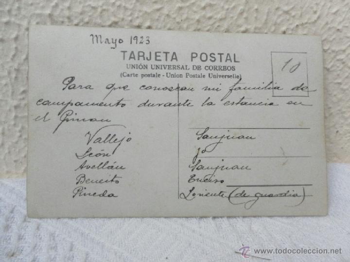 Militaria: Caballería Española. Campamento. 1923. - Foto 2 - 41608772