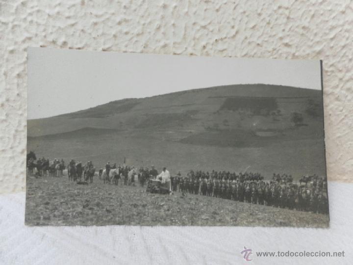 CABALLERÍA ESPAÑOLA. GUERRA DE ÁFRICA. MISA DE CAMPAÑA. AÑOS 20. (Militar - Fotografía Militar - Otros)
