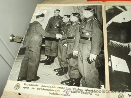 FOTOGRAFÍA ORIGINAL ALEMANIA II GUERRA MUNDIAL. GOEBBELS (Militar - Fotografía Militar - II Guerra Mundial)