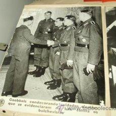 Militaria: FOTOGRAFÍA ORIGINAL ALEMANIA II GUERRA MUNDIAL. GOEBBELS. Lote 41623010