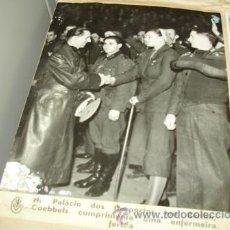 Militaria: FOTOGRAFÍA ORIGINAL II GUERRA MUNDIAL. ALEMANIA. GOEBBELS. Lote 41623052