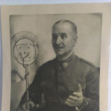 Militaria: GENERAL QUEIPO DE LLANO - FOTO JALON ANGEL. Lote 41626482