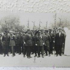 Militaria: GUERRA DE ÁFRICA. AUTORIDADES EN LARACHE. 13-08-1927. . Lote 41716643