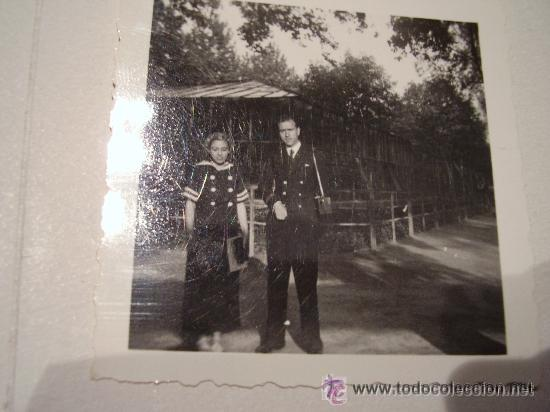GUERRA CIVIL : FOTO DE OFICIAL DE LA MARINA . FOTO ROS , CEUTA (Militar - Fotografía Militar - Guerra Civil Española)