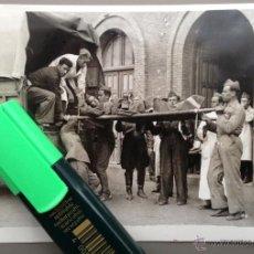 Militaria: FOTOGRAFÍA ORIGINAL GUERRA CIVIL, TALAVERA DE LA REINA, MADRID. DICIEMBRE 1936. Lote 41990735