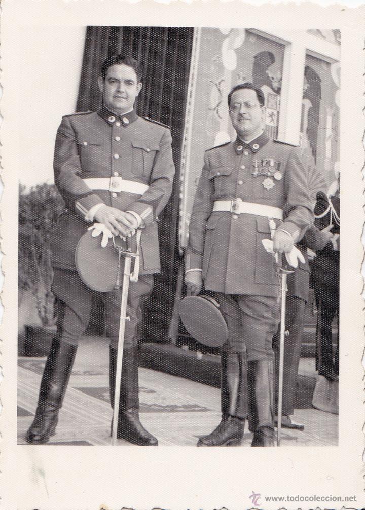 Militaria: FOTOGRAFÍAS DE MILITARES DE LA GUARDIA DE FRANCO - Foto 4 - 42029214