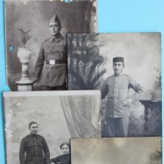 Militaria: 4 FOTOGRAFIAS MILITARES FOTO MILITAR FOTOGRAFIA. Lote 42051853