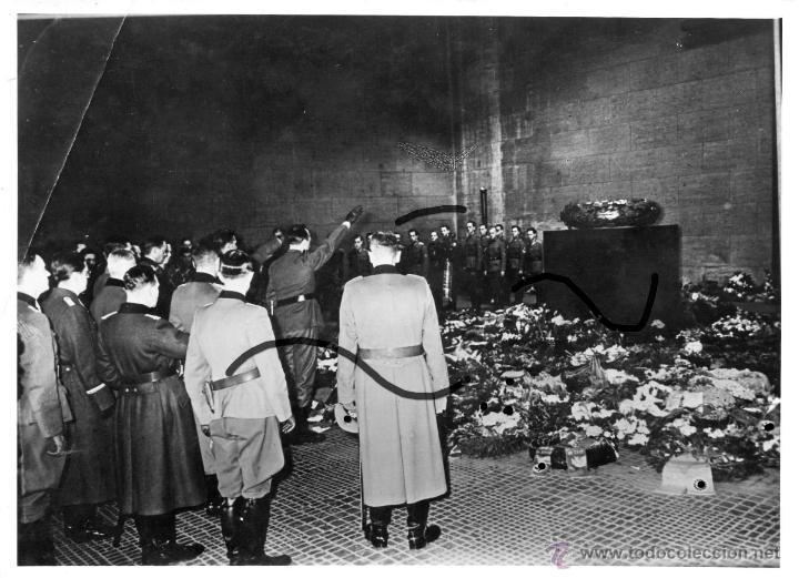 FOTO VOLUNTARIOS EUROPEOS. DIVISIÓN AZUL. (Militar - Fotografía Militar - II Guerra Mundial)