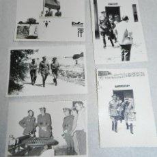 Militaria: LOTE DE 5 FOTOGRAFIAS DE LA YEGUADA MILITAR DE TIRO EN CORDOBILLA LA REAL (PALENCIA), FECHADAS EN 30. Lote 42239248