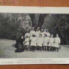 Militaria: NIÑOS ADOPTADOS , LA FAMILIA PAPILLONS, 17 JULIO 1917 ORFELINATO DE LA GUERRA, PARIS, LEER. Lote 42290052