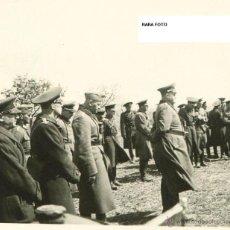 Militaria: FOTOGRAFIA SEGUNDA GUERRA MUNDIAL- RAREZA BATALLA STARLINGRADO-FRENTE RUMANO OBERST ROST + OFICIALES. Lote 42416592