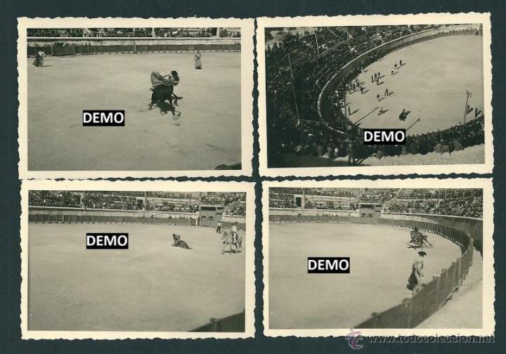 Militaria: 10 Fotografias Soldados alemanes en Francia viendo los toros - Nimes - ww2 - Foto 3 - 42502802