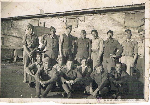 ALCAZARQUIVIR 1939 - MARRUECOS - MILITARES (Militar - Fotografía Militar - Guerra Civil Española)