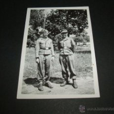 Militaria: BURGOS GUERRA CIVIL SOLDADOS LEGION CONDOR EN PARQUE 1938 . Lote 42592392