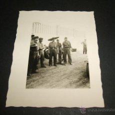 Militaria: BURGOS SOLDADOS LEGION CONDOR GUERRA CIVIL FOTO TOMADA POR SOLDADO DE LA LEGION CONDOR . Lote 42592465
