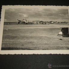 Militaria: ZARAGOZA 1939 AERODROMO SANJURJO LEGION CONDOR AVIONES HEINKEL 111 25-31Y 25-36 . Lote 42594923