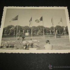 Militaria: SEVILLA AERODROMO DE TABLADA GUERRA CIVIL FOTOGRAFIA 1939 SOLDADOS LEGION CONDOR ANTES DE REGRESO. Lote 42595636