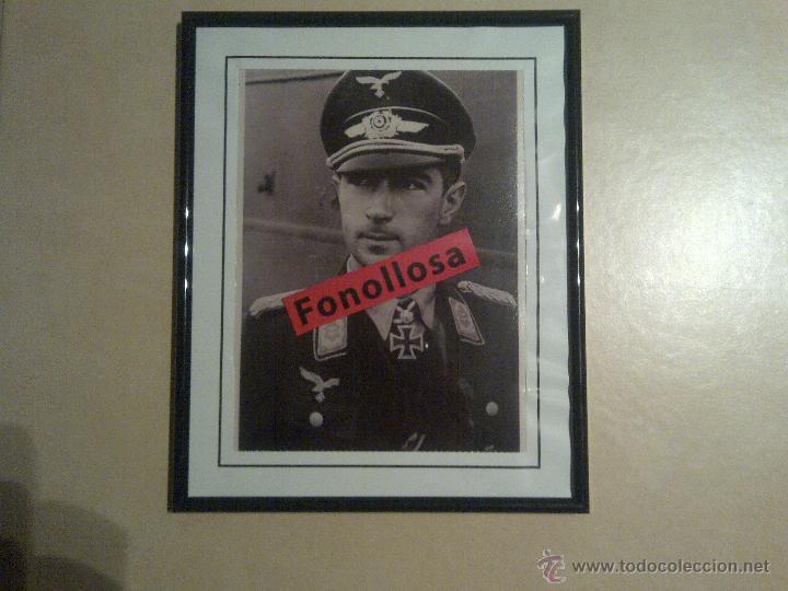FASCIMIL DE W.MOLDERS CON MARCO 13X18 CMS (Militar - Fotografía Militar - II Guerra Mundial)