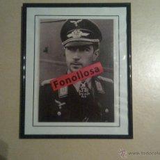 Militaria: FASCIMIL DE W.MOLDERS CON MARCO 13X18 CMS. Lote 42906501