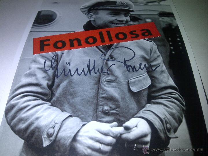 FASCIMIL DE GUNTHER PREIN FIRMADA 13X18 CMS (Militar - Fotografía Militar - II Guerra Mundial)