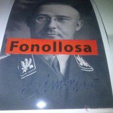 Militaria: FASCIMIL DE H.HIMMLER FIRMADA 13X18 CMS. Lote 70358083