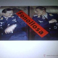 Militaria: FASCIMIL DE KRUPINSKY - HARTMANN FIRMADA 13X18 CMS. Lote 93677199