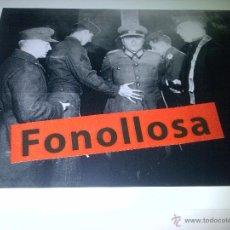 Militaria: FASCIMIL DE FUSILAMIENTO OFICIAL Y URKUNDE EK2 DE LA WH DE ANTON DOSTLER 13X18 CMS. Lote 43022574