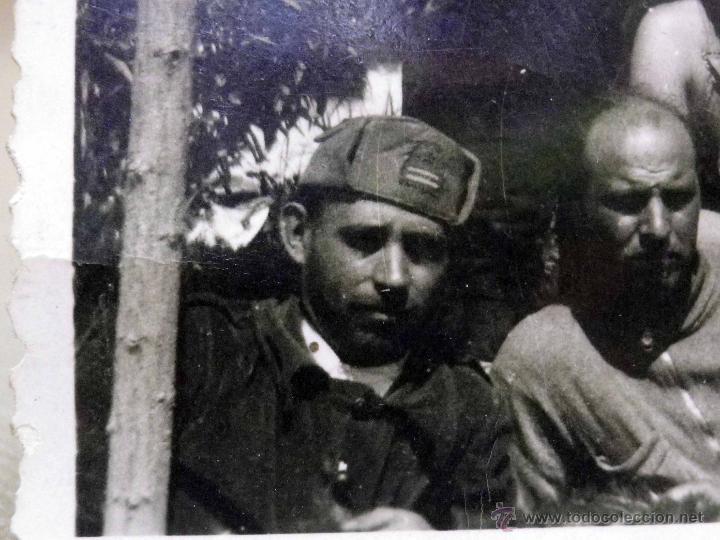 ANTIGUA FOTOGRAFIA, GUERRA CIVIL ESPAÑOLA, LAS ROZAS, MADRID, CASA DEL DIABLO, ABRIL 1937 (Militar - Fotografía Militar - Guerra Civil Española)