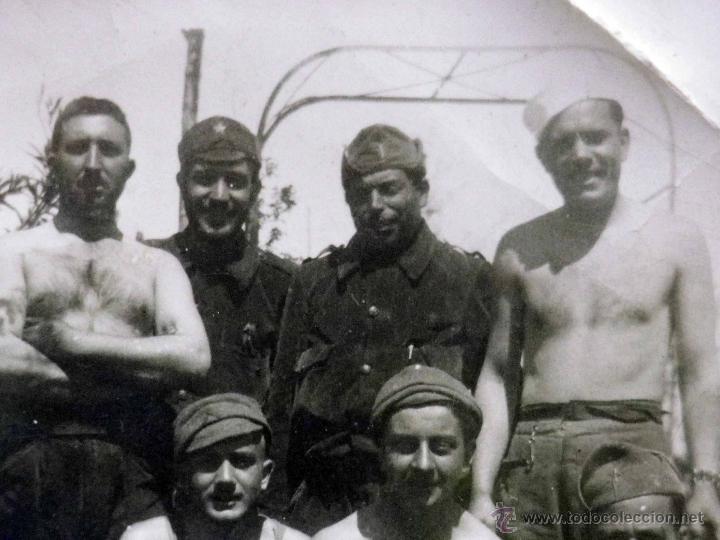 Militaria: ANTIGUA FOTOGRAFIA, GUERRA CIVIL ESPAÑOLA, LAS ROZAS, MADRID, CASA DEL DIABLO, ABRIL 1937 - Foto 4 - 43087504