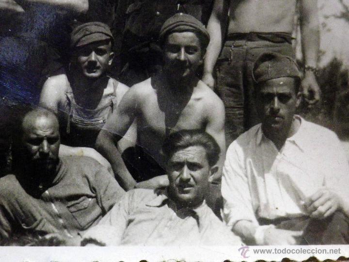 Militaria: ANTIGUA FOTOGRAFIA, GUERRA CIVIL ESPAÑOLA, LAS ROZAS, MADRID, CASA DEL DIABLO, ABRIL 1937 - Foto 5 - 43087504