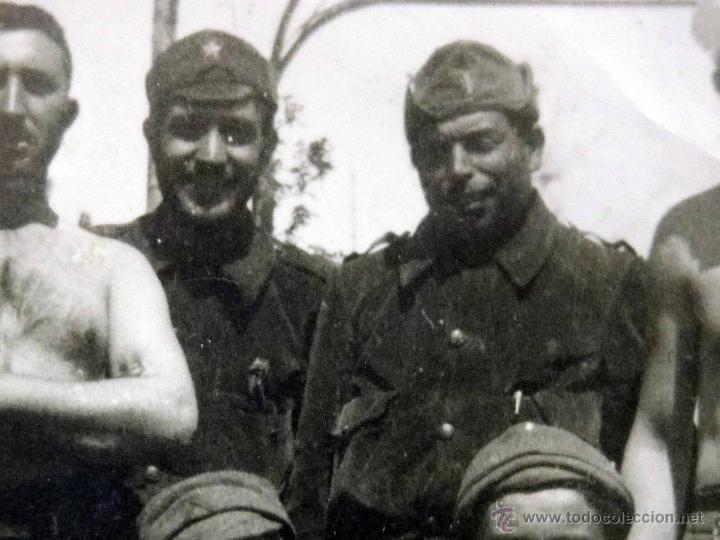 Militaria: ANTIGUA FOTOGRAFIA, GUERRA CIVIL ESPAÑOLA, LAS ROZAS, MADRID, CASA DEL DIABLO, ABRIL 1937 - Foto 6 - 43087504