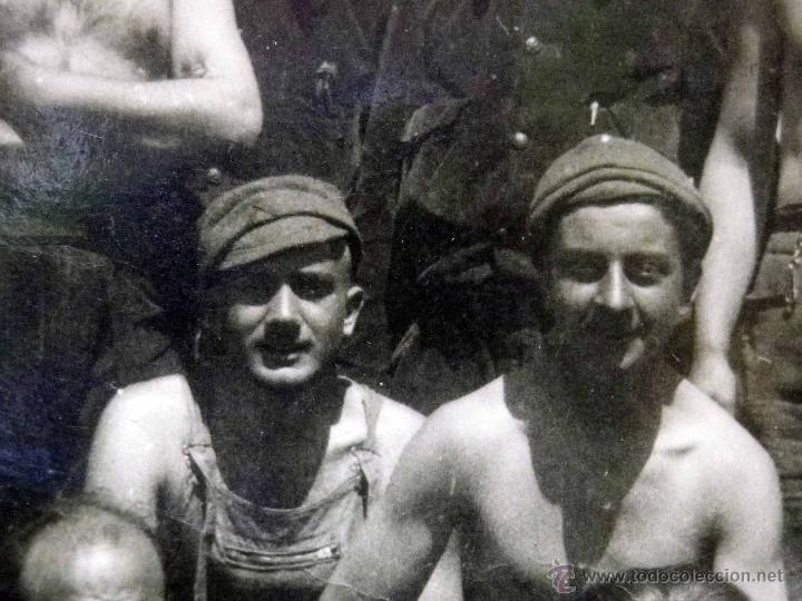 Militaria: ANTIGUA FOTOGRAFIA, GUERRA CIVIL ESPAÑOLA, LAS ROZAS, MADRID, CASA DEL DIABLO, ABRIL 1937 - Foto 7 - 43087504
