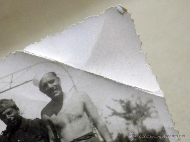 Militaria: ANTIGUA FOTOGRAFIA, GUERRA CIVIL ESPAÑOLA, LAS ROZAS, MADRID, CASA DEL DIABLO, ABRIL 1937 - Foto 9 - 43087504