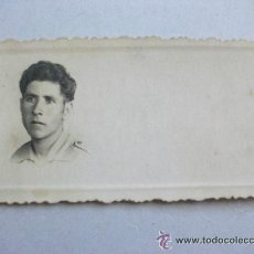 Militaria: GUERRA CIVIL : SOLDADO NACIONAL. 4 X 8 CM. Lote 43168169