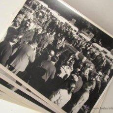 Militaria: 31 FOTOGRAFÍAS DE FRANCO, PRÍNCIPE JUAN CARLOS, C.M. BORDIÚ, ETC. MONTERÍA EN ANDUJAR. 1970. Lote 43282467