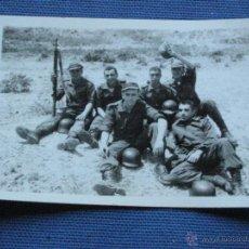 Militaria: FOTOGRAFIA MILITAR - GRUPO MILITARES. Lote 43297524