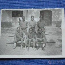 Militaria: FOTOGRAFIA MILITAR - GRUPO MILITARES. Lote 43297656