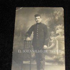 Militaria: FOTOGRAFIA MILITAR EPOCA DE ALFONSO XIII. Lote 43349773