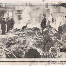 Militaria: FOTO FOTOGRAFÍA BOMBARDEO EN BARCELONA 1938 GUERRA CIVIL ESPAÑOLA. Lote 43401450