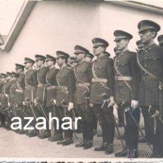 Militaria: ACADEMIA MILITAR DE CABALLERIA, 1946, FORMACION ALUMNOS Y PROFESORES, MAGNIFICA,170X112MM. Lote 43528166