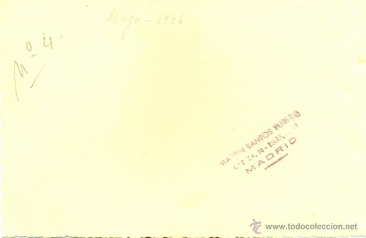 Militaria: ACADEMIA MILITAR DE CABALLERIA, 1946, FORMACION ALUMNOS Y PROFESORES, MAGNIFICA,170X112MM - Foto 2 - 43528166