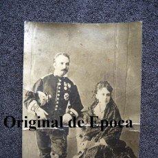 Militaria: (JX-1408)FOTOGRAFIA DE OFICIAL SIGLO XIX,CON CONDECORACIONES CARLISTAS. Lote 43562889