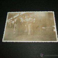 Militaria: LEON GUERRA CIVIL SOLDADOS LEGION CONDOR EN ESTACION FERROCARRIL. Lote 43614309