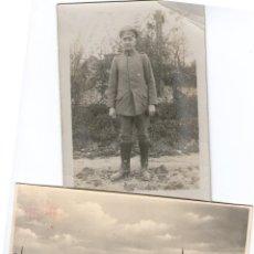 Militaria: LOTE POSTAL Y 2 FOTOS ALEMANIA NAZI AVIONES Y CRUZ DE HIERRO. Lote 43629922