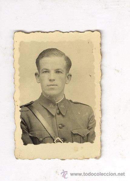 Militaria: Division azul. antigua fotografia original. pequeño tamaño 6 x 6 cm - Foto 2 - 43721337