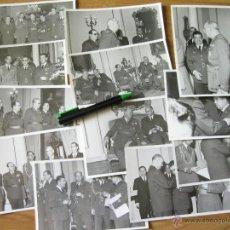 Militaria: LOTE DE 12 FOTOGRAFIAS DEL EJERCITO DEL AIRE - DIVISION AZUL - MUÑOZ GRANDES - LAUREADA - MED MERITO. Lote 43783757