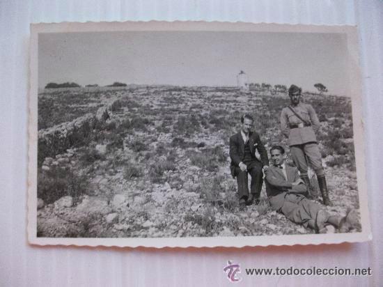 GUERRA CIVIL: SOLDADO DE SANIDAD MILITAR. . BALEARES........... 6 X 8,5 CM (Militar - Fotografía Militar - Guerra Civil Española)