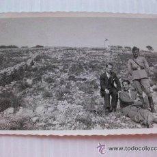 Militaria: GUERRA CIVIL: SOLDADO DE SANIDAD MILITAR. . BALEARES........... 6 X 8,5 CM. Lote 43902195